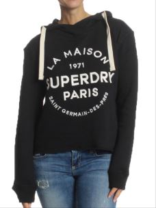 Felpa Superdry Applique Crop